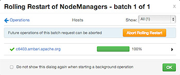 Rolling Restart from NodeManagers
